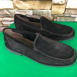 Banana Republic Brown Suede Slip on Loafers 12D